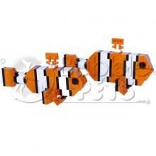 Lego - Pair Clownfish, Male & Female - Amphiprion ocellaris - Poisson-clown