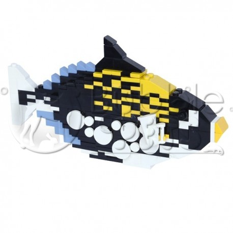 Lego - Clown Triggerfish - Balistoides conspicillum - Baliste clown