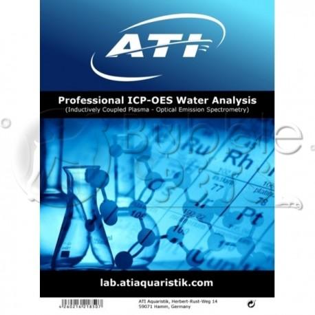 Analyse d'eau - Test - ICP-OES - ATI